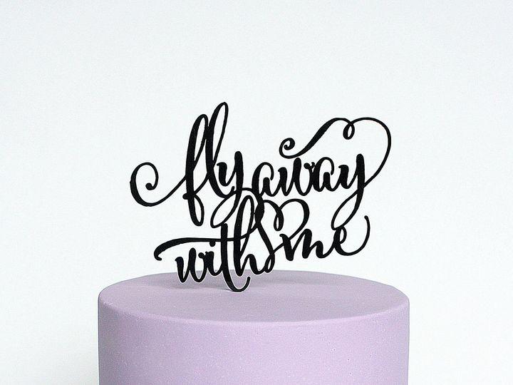 Tmx 1429503441073 Purplecake Copy Spring wedding cake