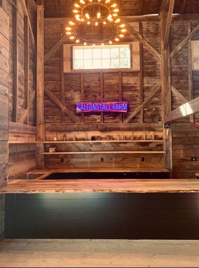 Saltonstall Farm bar