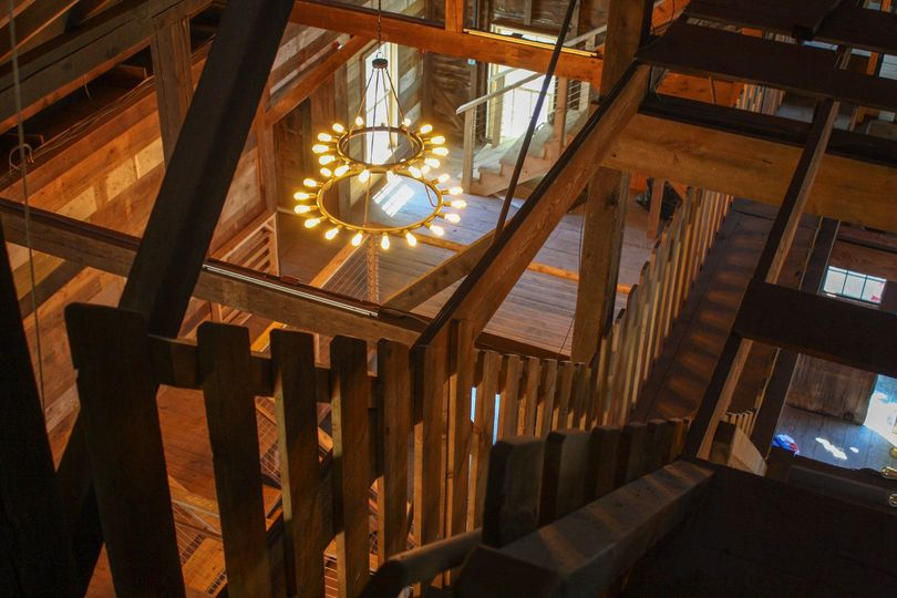 Staircase to the cupola