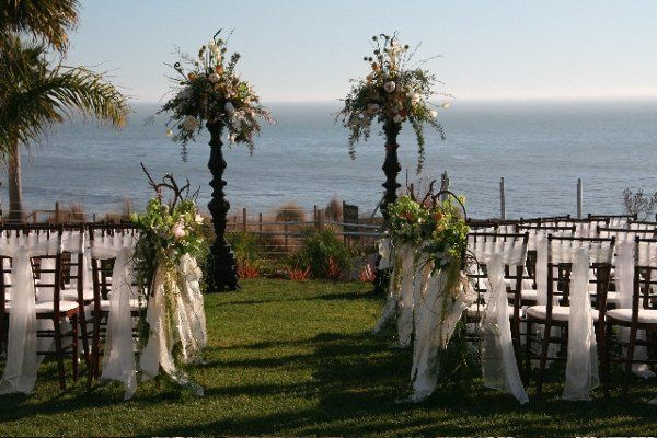 Ocean view ceremony site