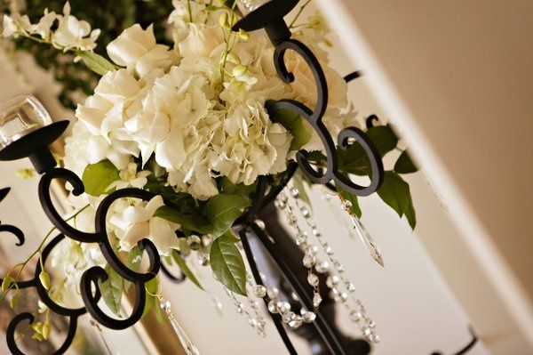 Platinum package centerpiece