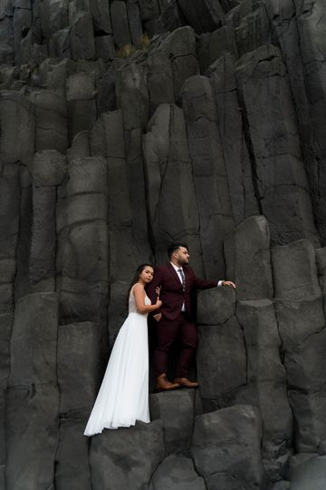 Iceland Black Beach Elopement