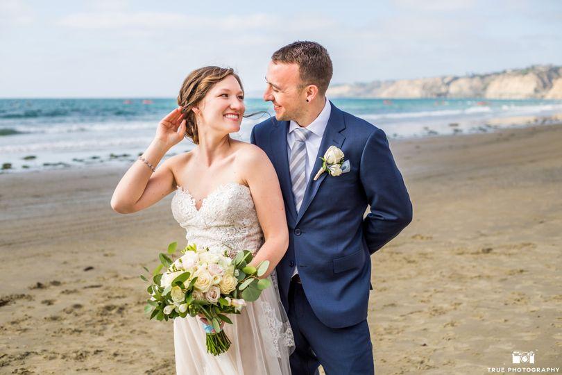 Couples Portrait on Beach