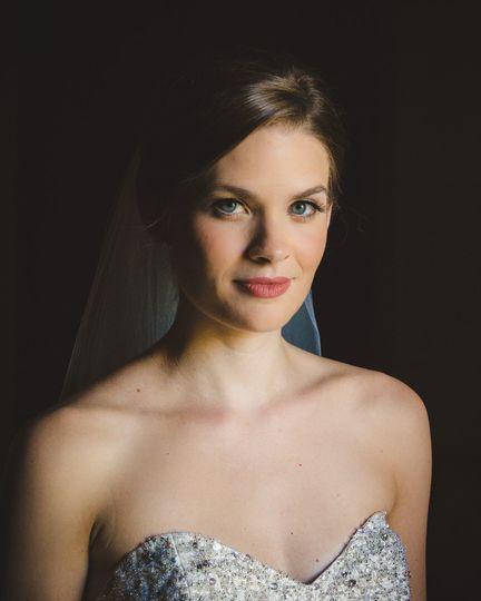 durham wedding photographer bridal portrait 1