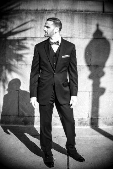 Wilmington Groom Portrait