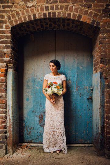 Cloth Mill Bridal Pic