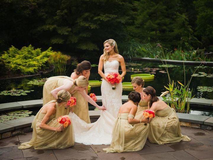 Duke Gardens Bride & Bridesmai