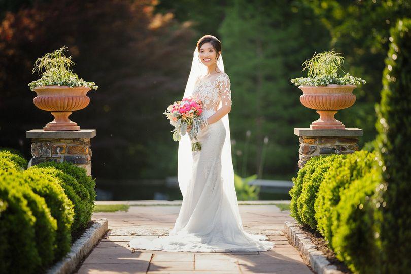 Duke Gardens Bridal Photo