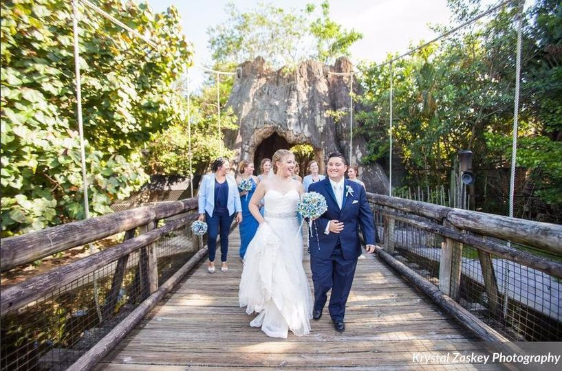 Wedding at Palm Beach Zoo