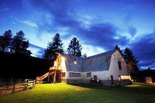 Pine river ranch photos ceremony reception venue for Leavenworth wa wedding venues