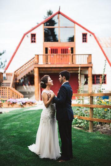 Pine river ranch venue leavenworth wa weddingwire for Leavenworth wa wedding venues