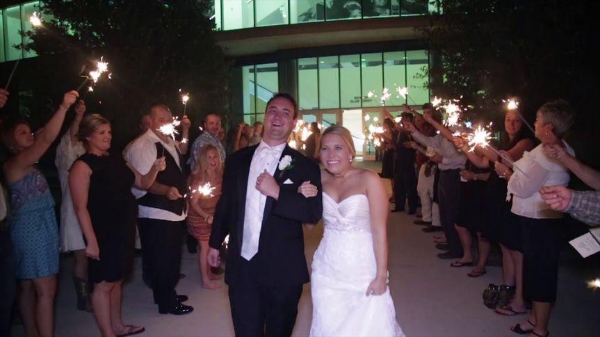 Wishing the couple well