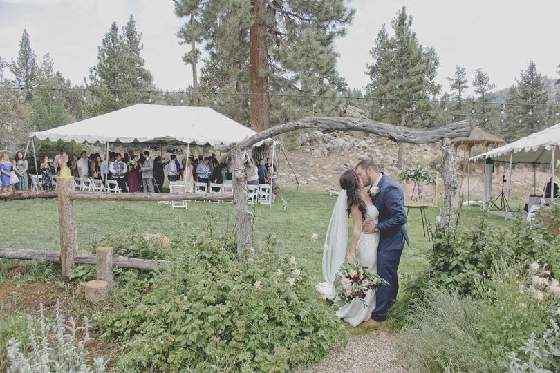 A rustic wedding
