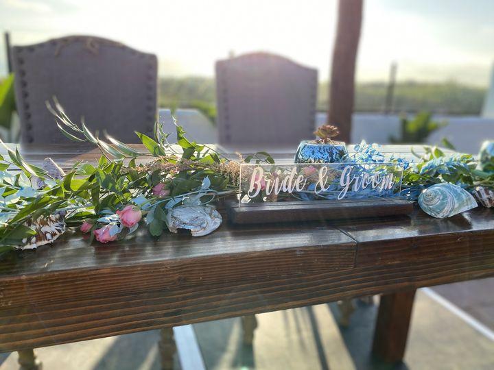 Included decor: bride & groom