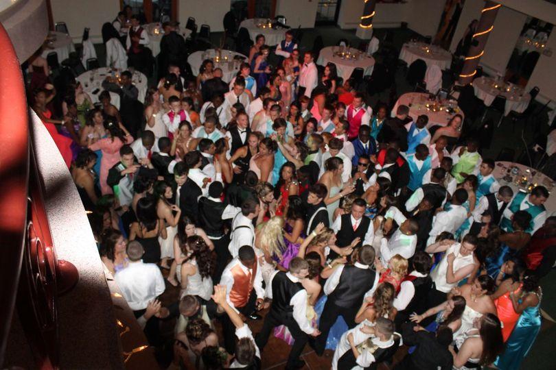 Need more room on  dancefloor