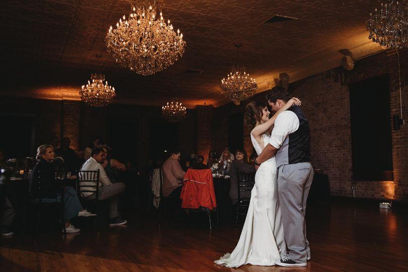 Romantic dance for couple