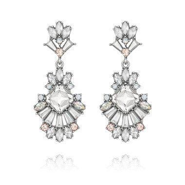 Tmx 1427911916210 Celestial Frost Drop Earrings Clackamas wedding jewelry