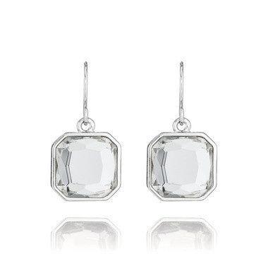 Tmx 1427911998254 Retro Glam Square Cut Earrings Clackamas wedding jewelry
