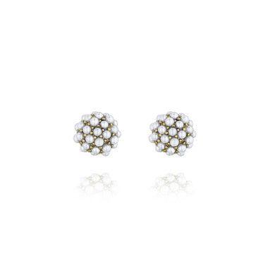 Tmx 1429221203633 Pave Ball Stud Earrings 28 Clackamas wedding jewelry