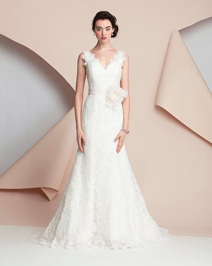 The White Gown Dress Attire New York Ny Weddingwire
