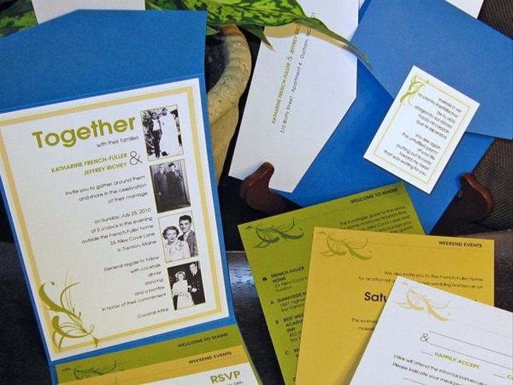 Tmx 1274727477843 Katharineandjeff2 Durham, North Carolina wedding invitation