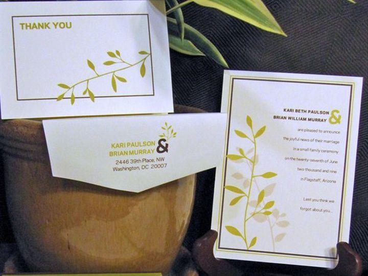 Tmx 1274727493314 Kariandbrian2 Durham, North Carolina wedding invitation