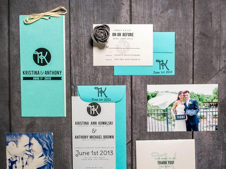 Tmx 1428356918655 Kristinadesignz 069 Edit Anoka, MN wedding invitation