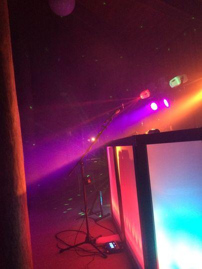 Carolina Wedding DJ Lighting