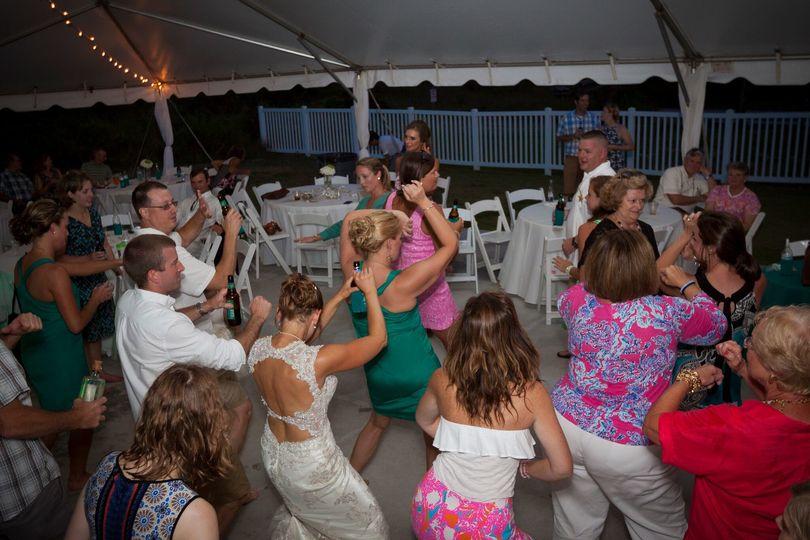 Islander Wedding Dance Party