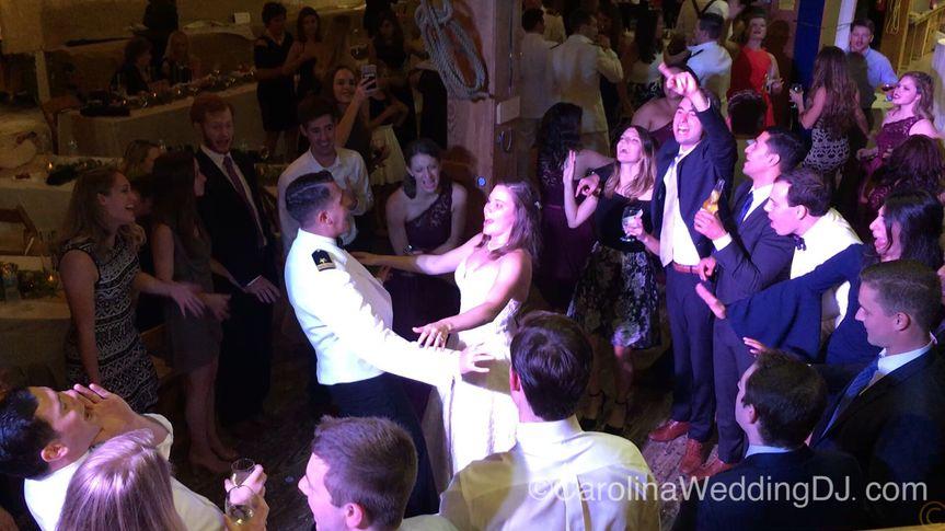 Bride and Groom - Beaufort NC