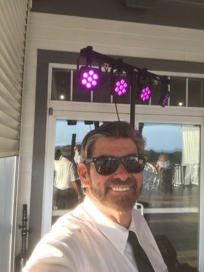MC/DJ Bob Laverty