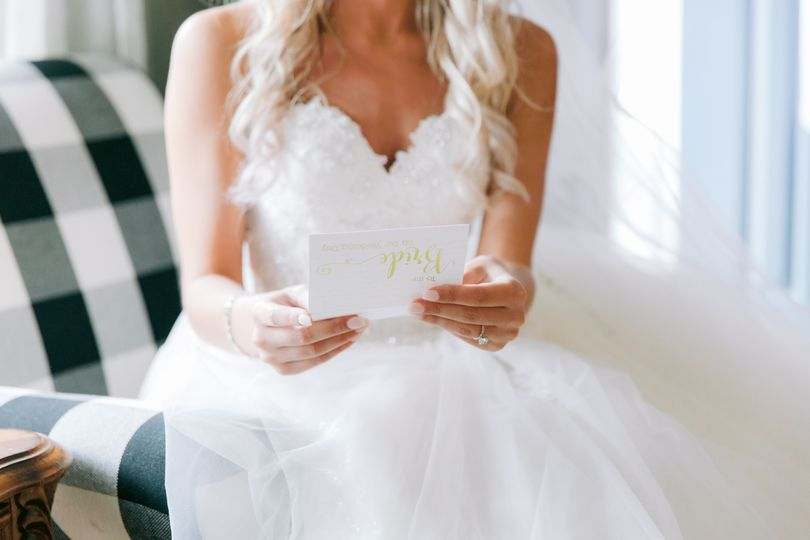 Letter from the Groom