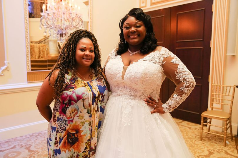 Bride and I