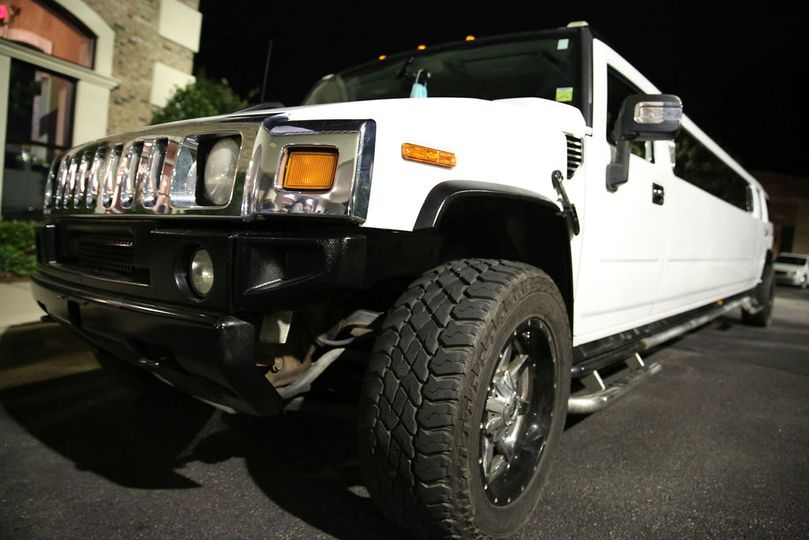 Stretch Hummer Exit