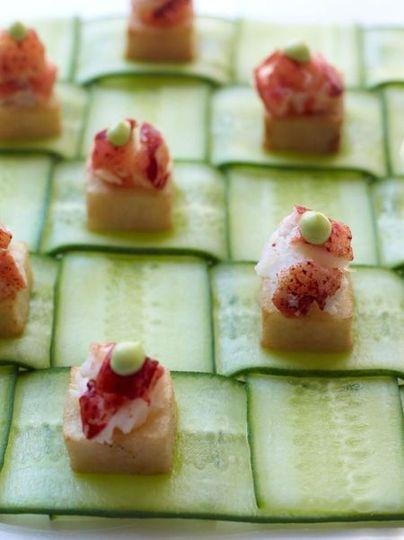 cucumber platter