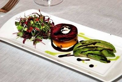 amazing beet salad course