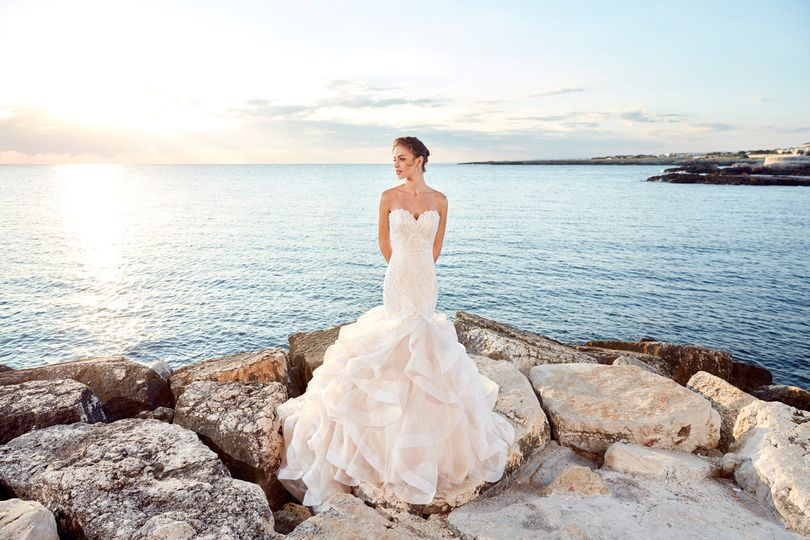 The bride by the waters