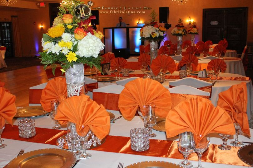 table chairs nj linen sashes centerpiece led li