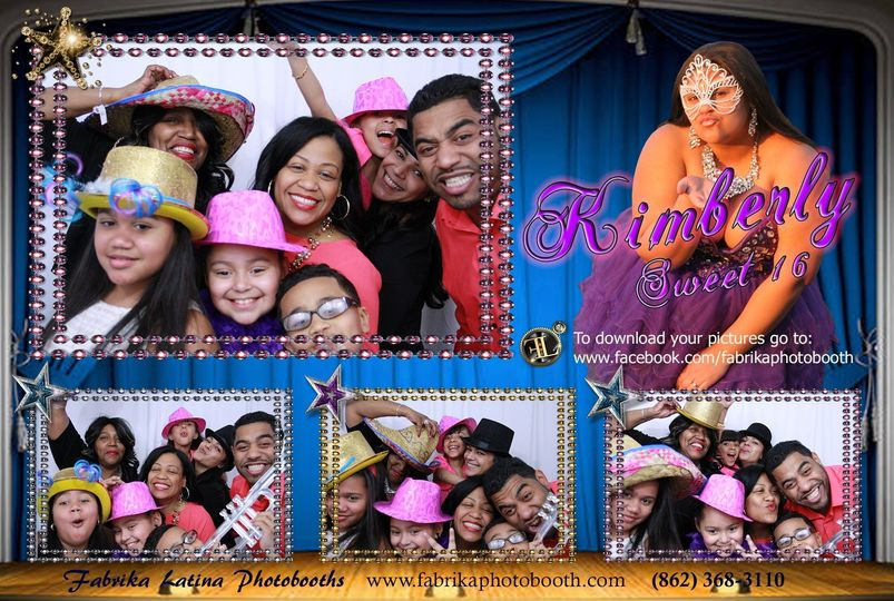 Kimberly Sweet 16 - Photobooth - Bronx NY - Photo Booth quinces - quinceanera - quinceañera