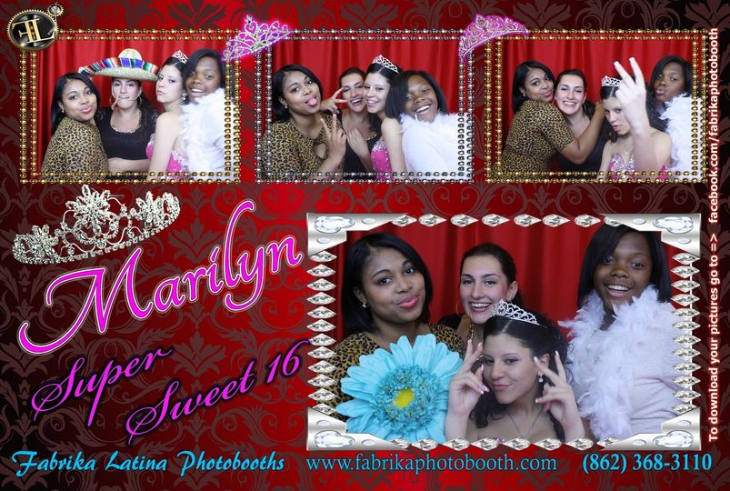 NJ Sweet 16 - Quinces - Photobooth newark - NJ - new jersey - new york - ny - LI - brooklyn - bronx...