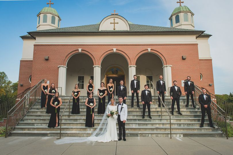 Bridal party- The Weintraubs