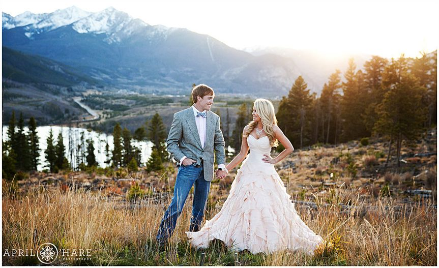 summit county colorado wedding photographer
