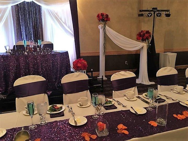 Fall decor for wedding reception