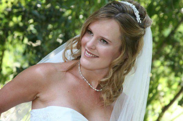 Lndsay wedding day