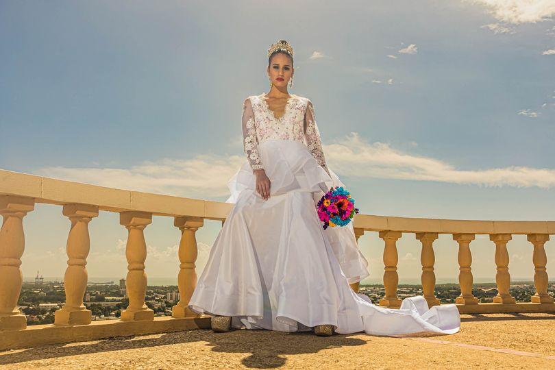 Bride @ Castillo Serralles