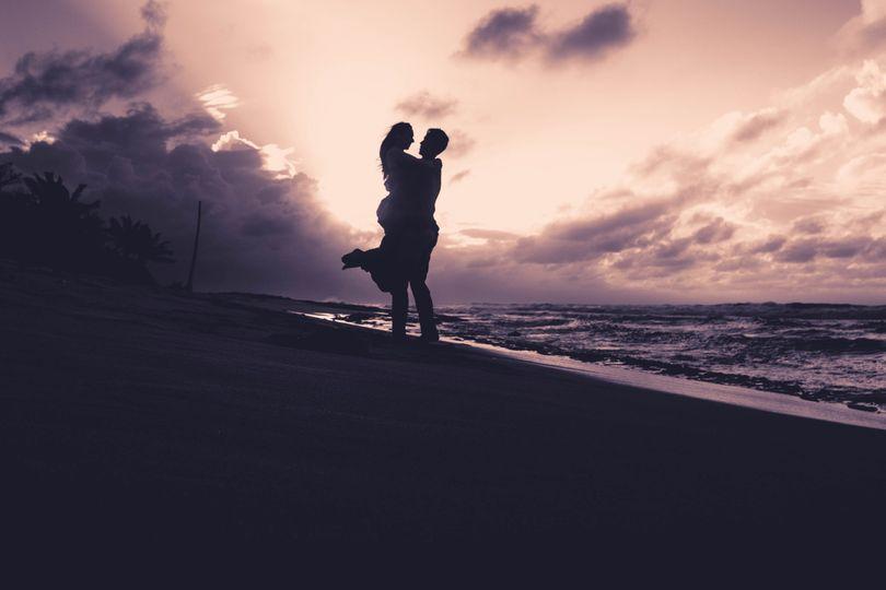 Lovely Beachfront Love Story