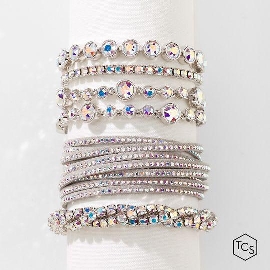 Aurore boreale bracelets