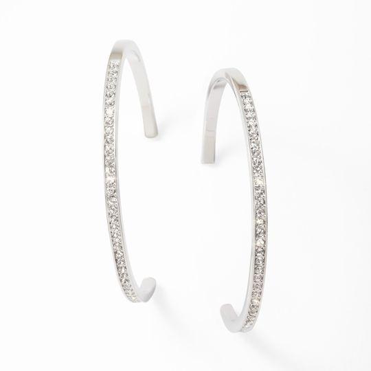 Grand hoopla earrings
