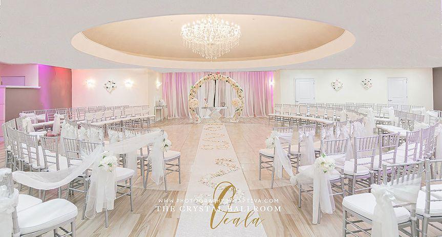 crystal ballroom wedding venue ocala florida 149 51 1014829 158260267110089