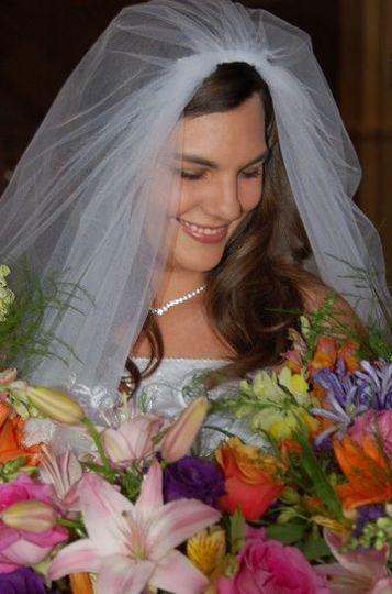 Bride protrait